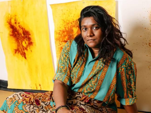 'Bittersweet' curator Shivanjani Lal in her studio