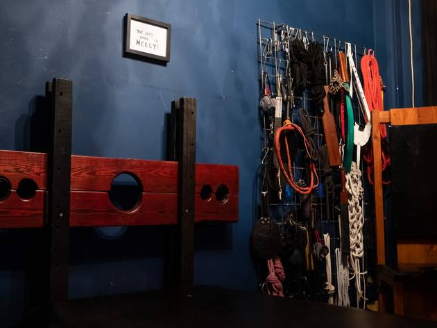 The 'Blue Dungeon' at The Kastle