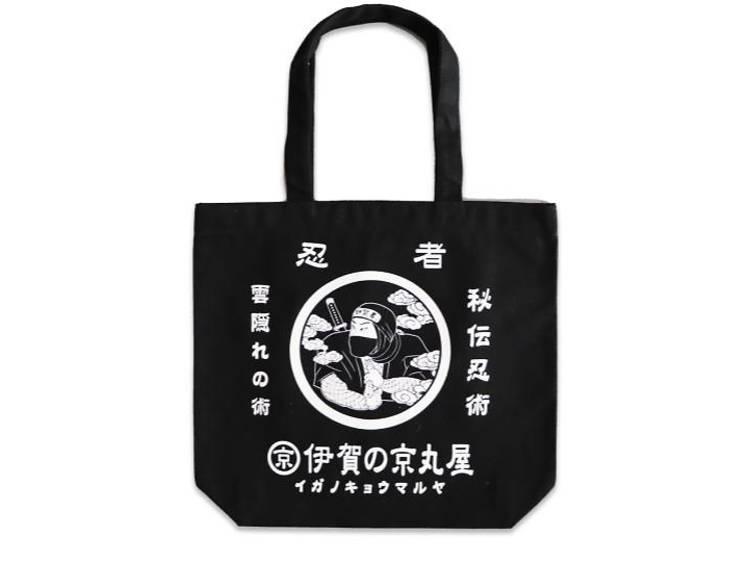 【三重】伊賀 家紋忍者 トートバッグ