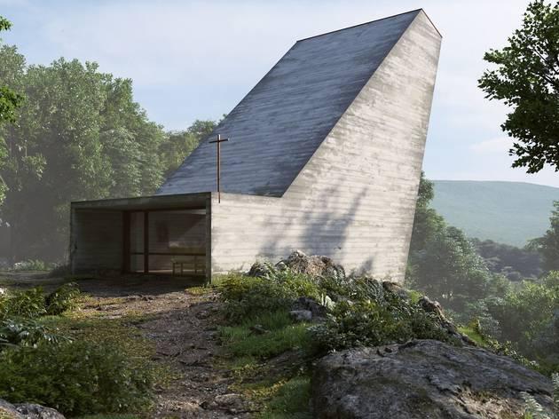 Capela Cohen, nos Alpes suíços