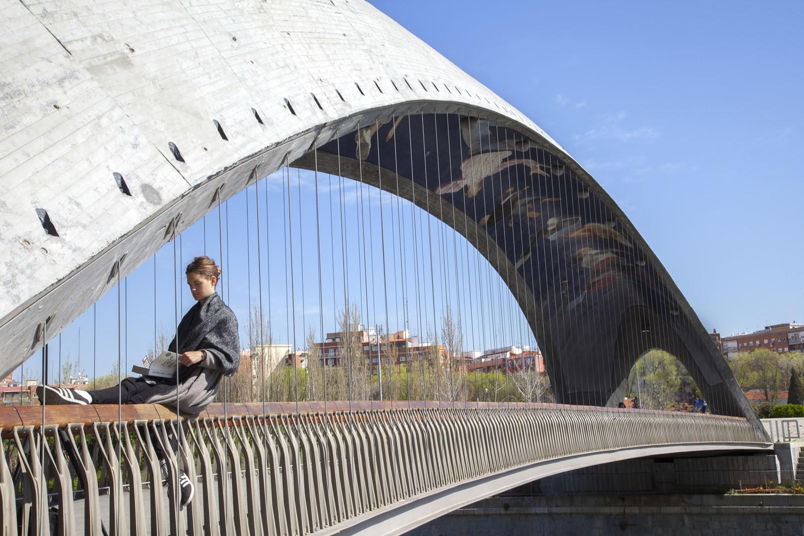 Puentes gemelos de Madrid Río
