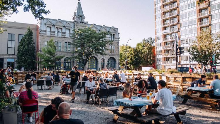 La Banquise x Pit Caribou Beer Garden