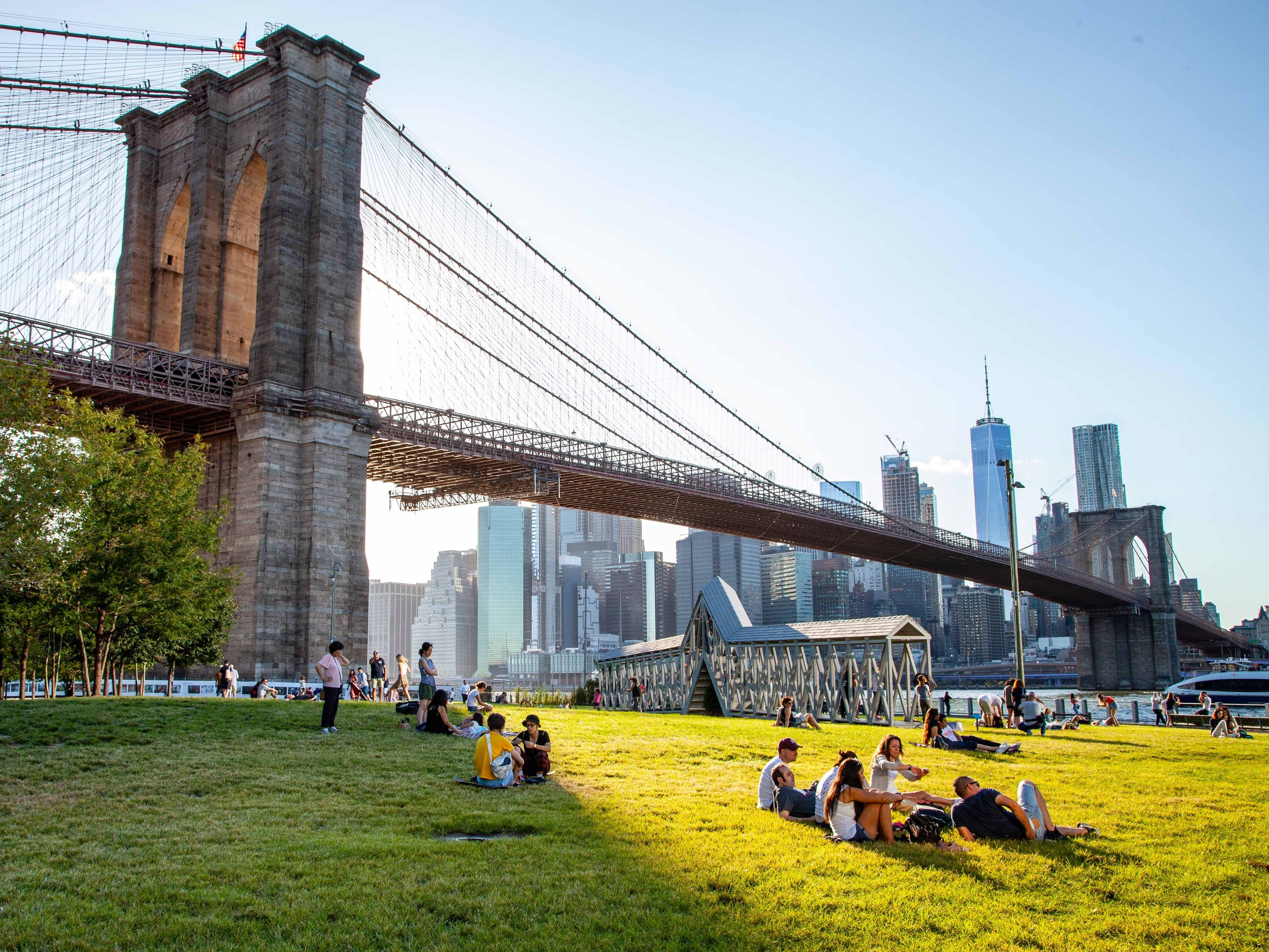The best picnic spots near Time Out Market New York