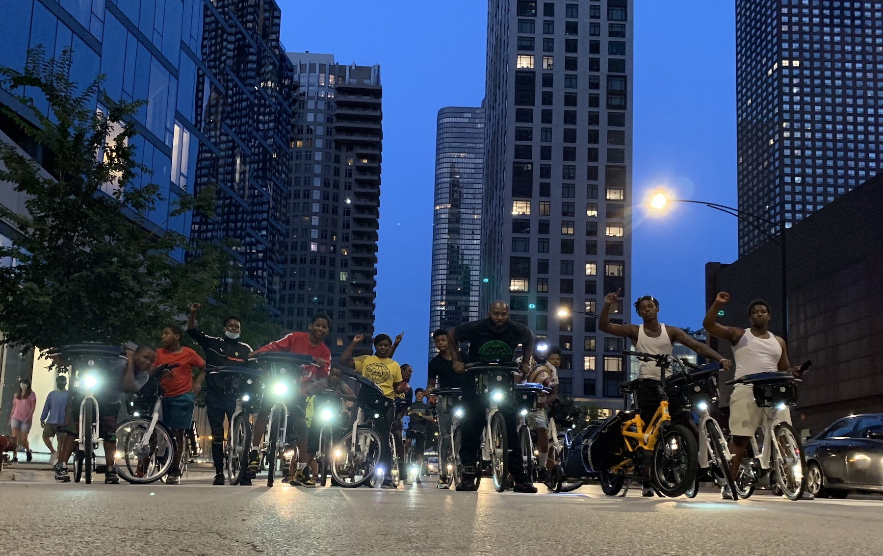 A community bike ride through North Lawndale aims to bring peace to the streets