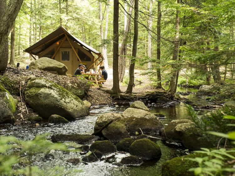 Conway, NH: Huttopia White Mountains