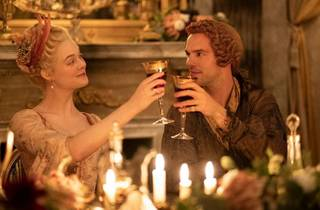 Elle Fanning goes head-to-head with Nicholas Hoult in The Great