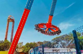 Cryzanity, la nueva atracción de Six Flags México