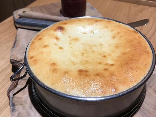 Cheesecake del restaurante Estimar