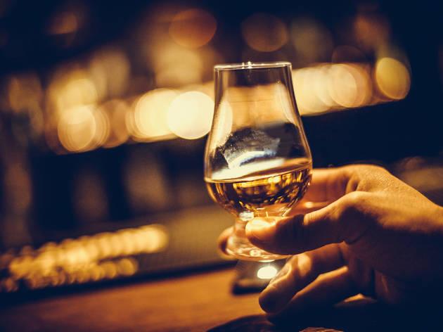 Whisky tasting glass