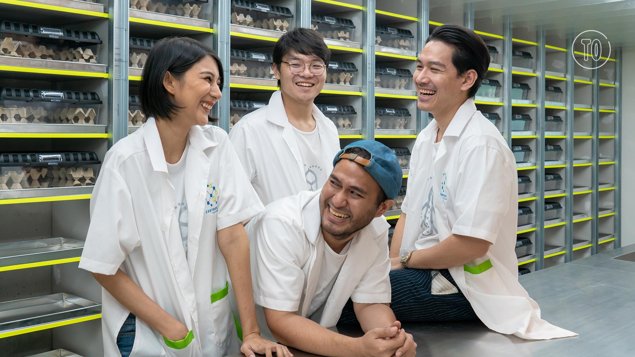 Exofood Thailand ฟาร์มแมลงแนวตั้งที่อาจกลายเป็น 'แหล่งอาหาร' ของเราในอนาคต