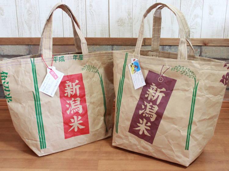 【新潟】米袋バッグ