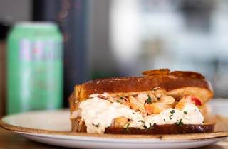 Lobster Roll Ground Burger
