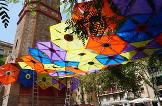 Festa Major de Gràcia 2020. Plaça de la Vila