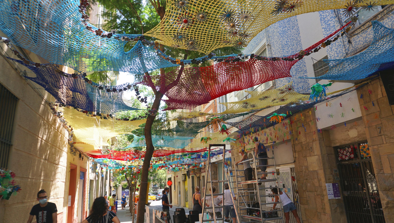 Festa Major de Gràcia 2020. Joan Blanques de Baix de Tot