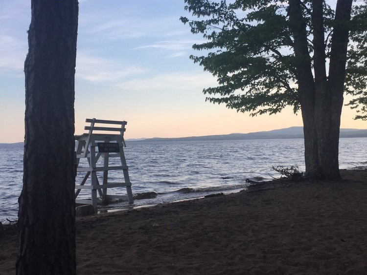 Sebago Lake State Park in Casco, ME