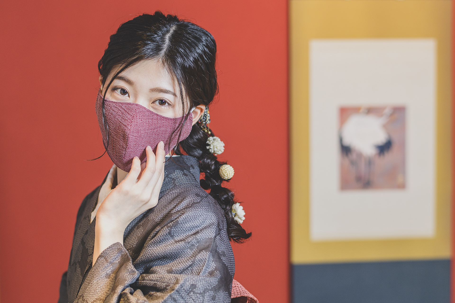 These gorgeous face masks are made from Japanese washi paper – and they're reusable