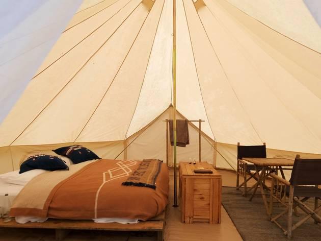 Flash Camp interior