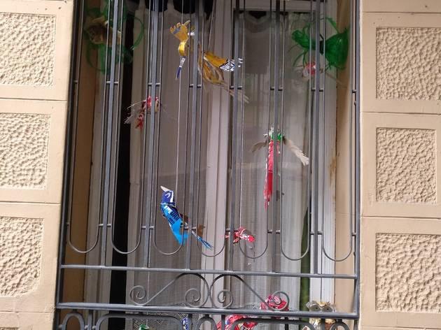 Balcó guarnit al carrer Joan Blanques de Baix