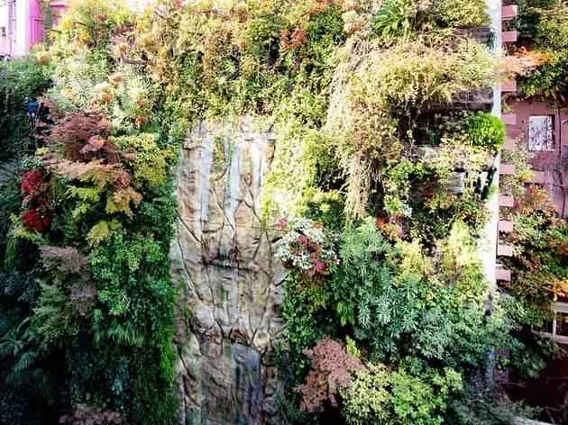 Jardín vertical Hotel Santo Domingo