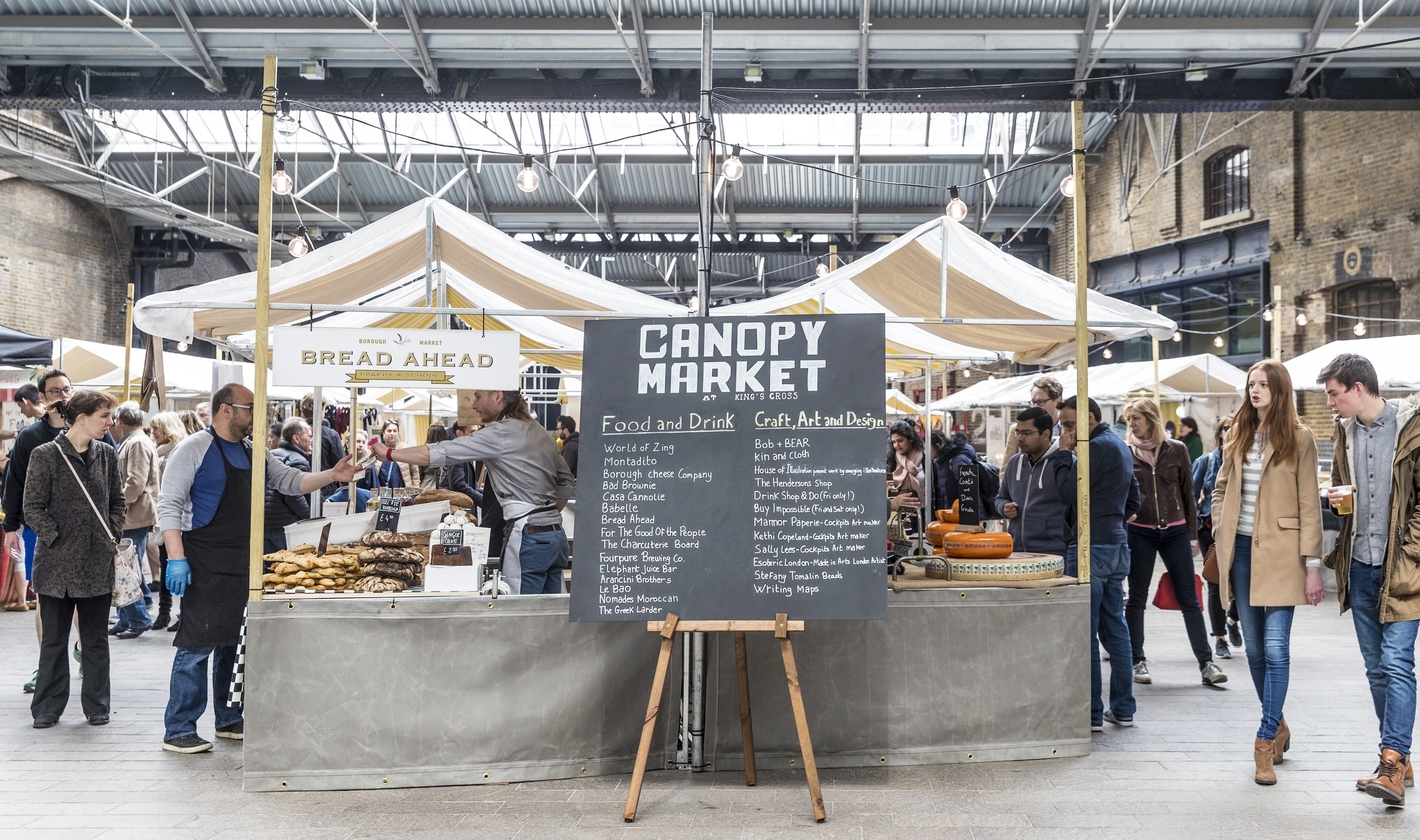 Canopy Market, King's Cross