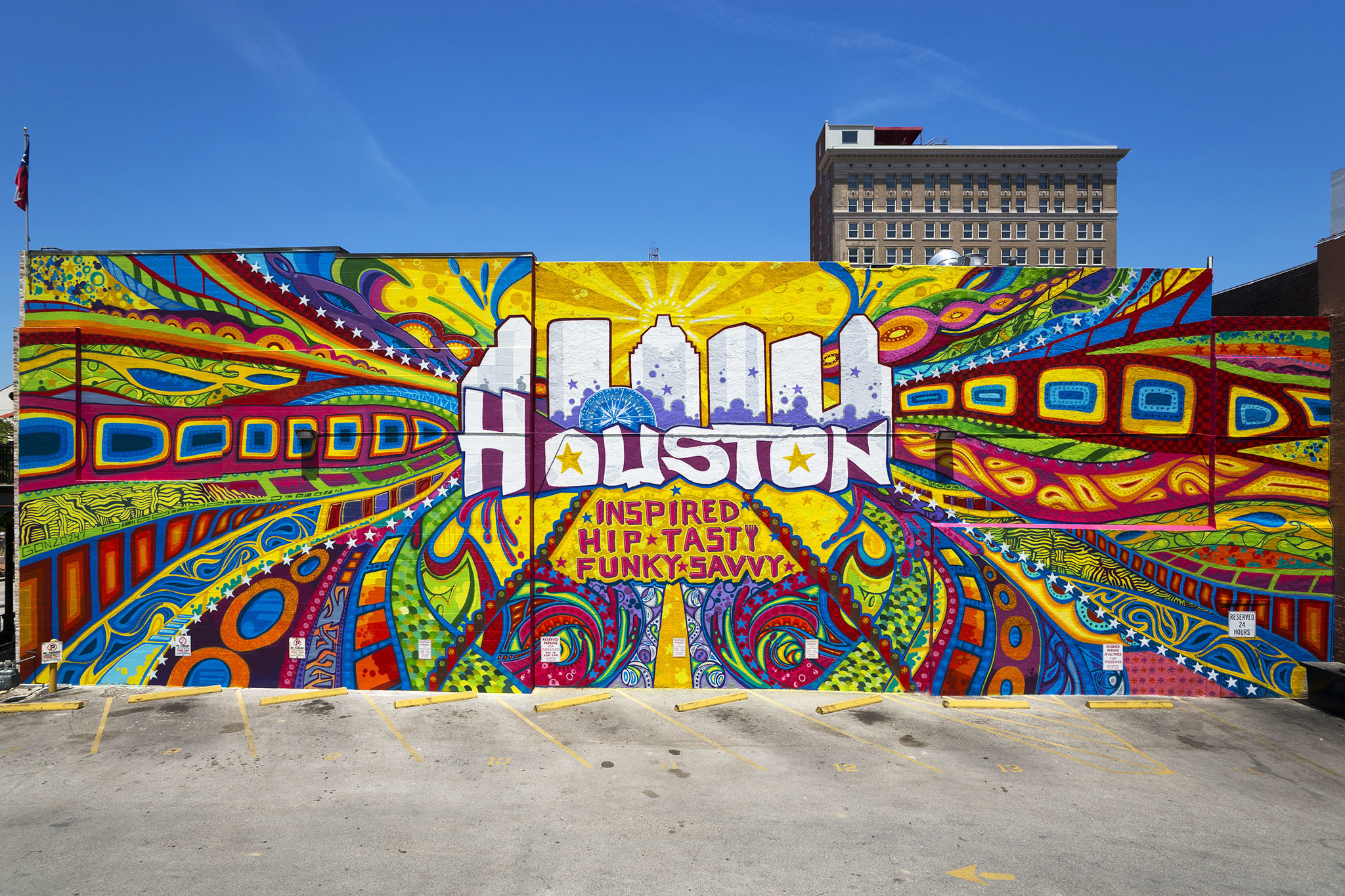 Houston is Inspired Mural
