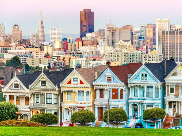 Painted Ladies Houses, San Francisco, California