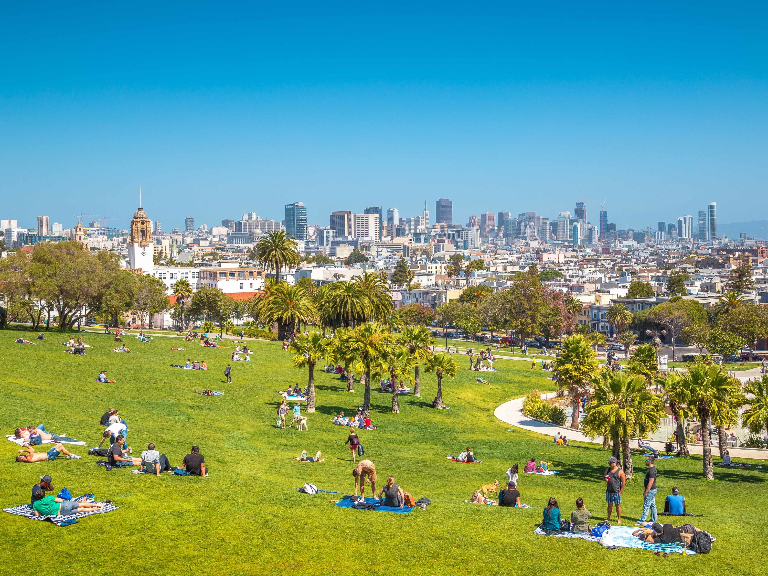 Dolores Park, San Francisco, California
