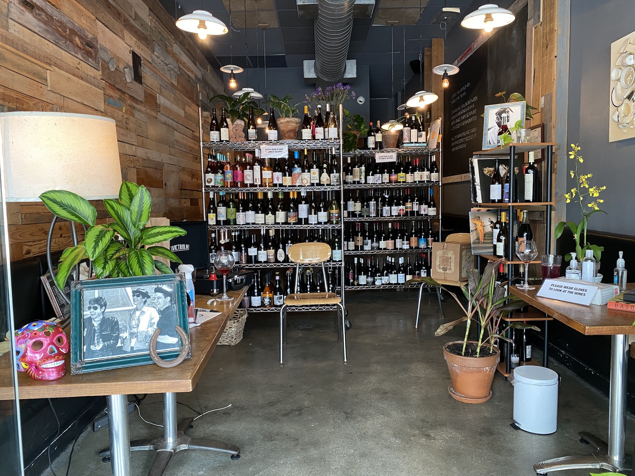 Wine Medium at NIU Kitchen