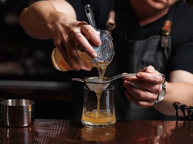 Hendriks Cognac and Wine 1 (Photograph: Steven Woodburn)