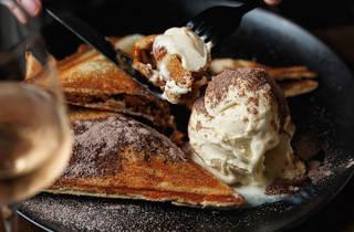 Hendriks Cognac jaffle dessert (Photograph: Steven Woodburn)