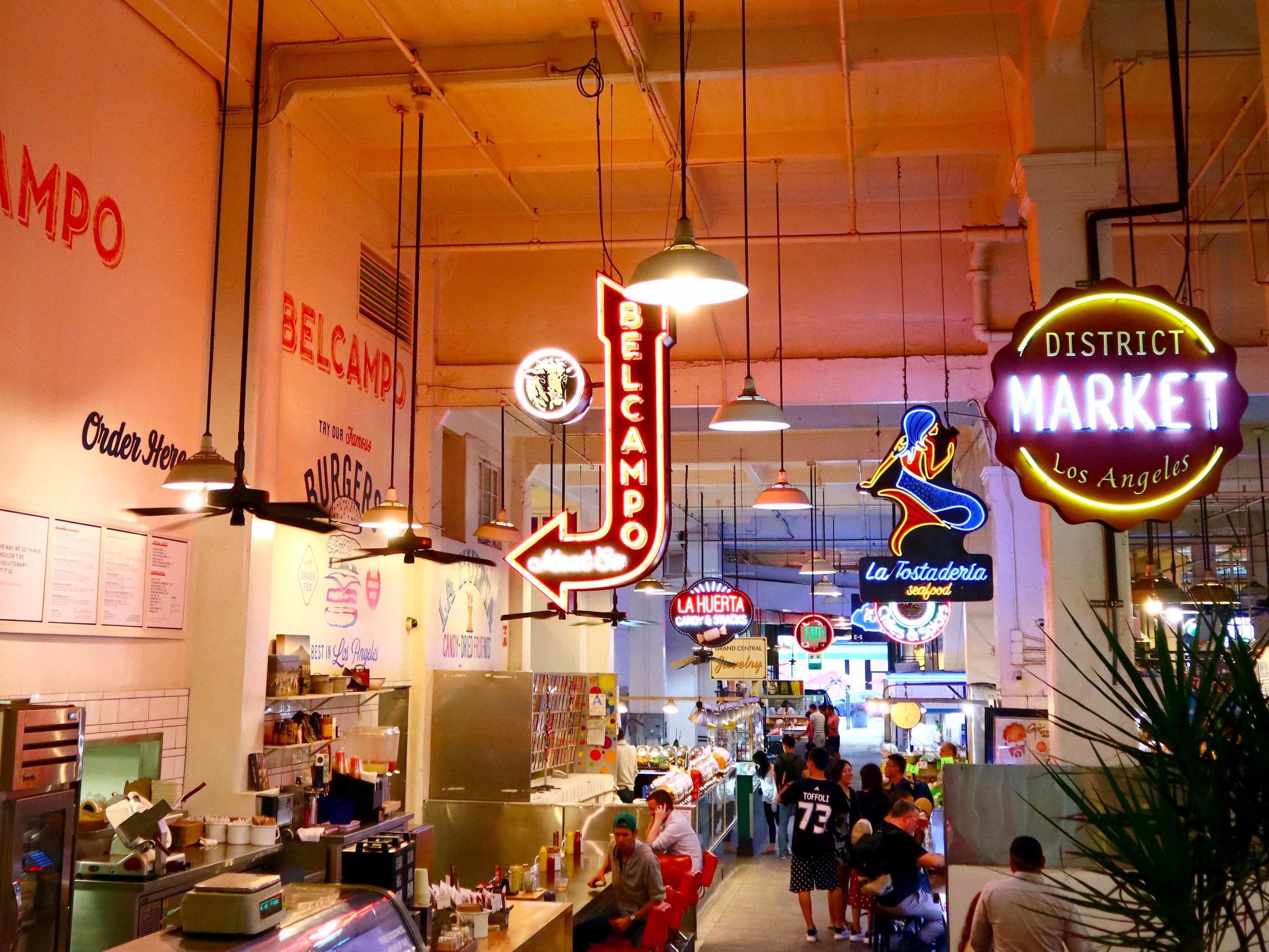 Grand Central Market, Los Angeles, California