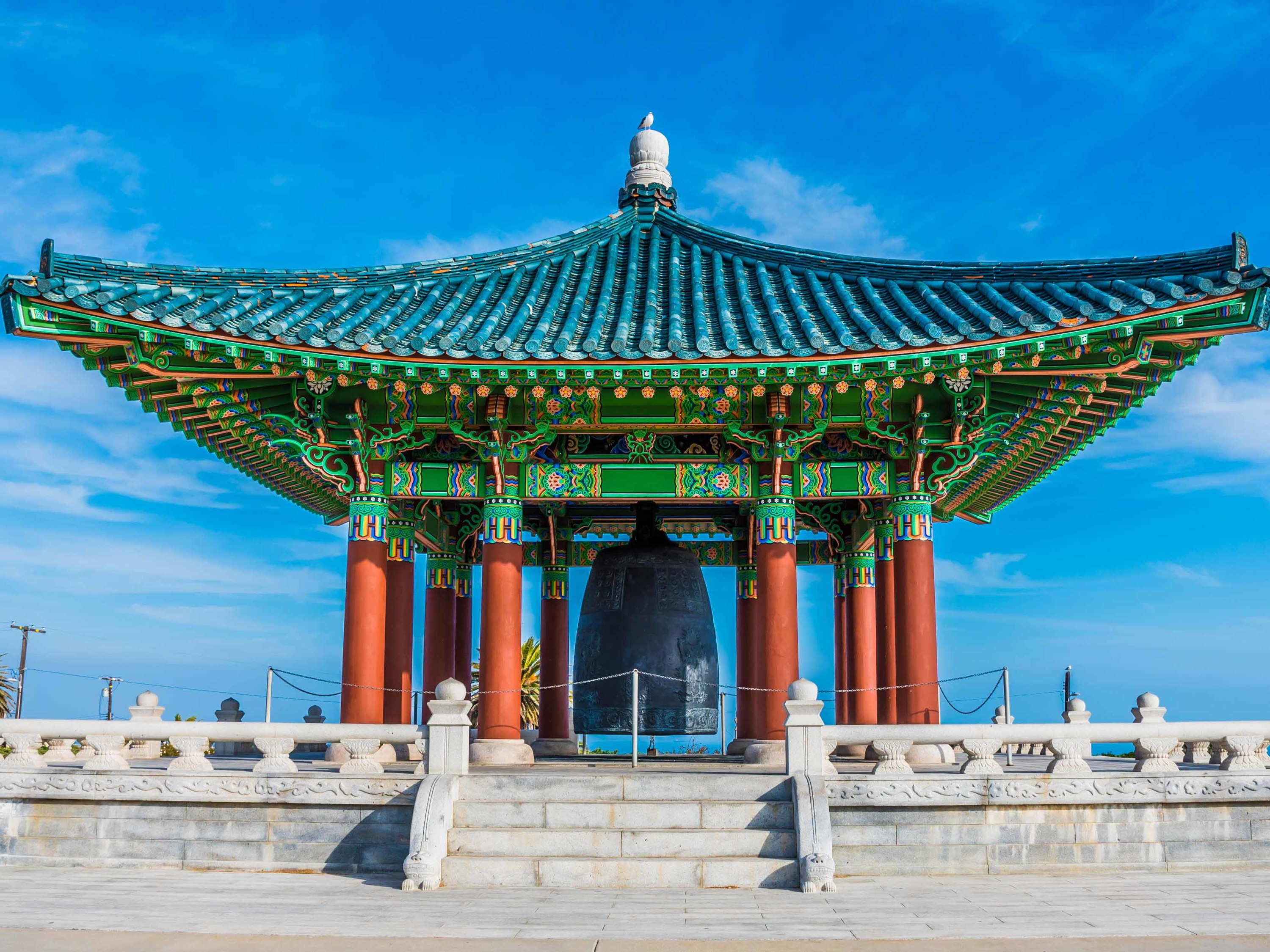 Korean Bell of Friendship, San Pedro, California