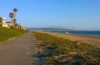 Marvin Braude Bike Trail, The Strand, Los Angeles, California