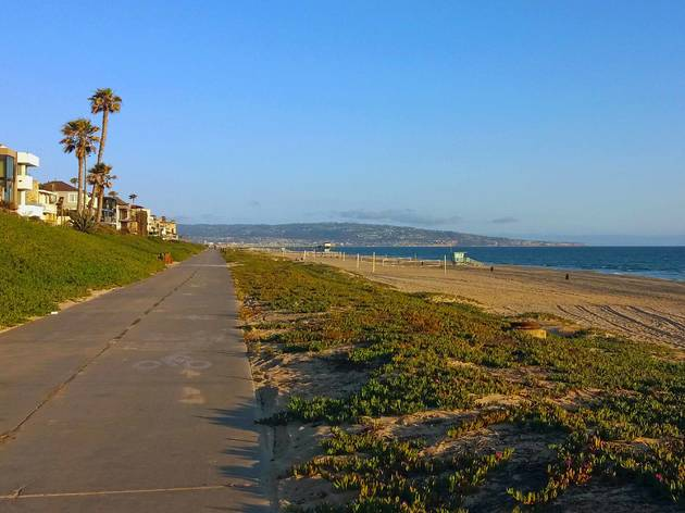 Marvin Braude Bike Trail, The Strand, Los Angeles, California