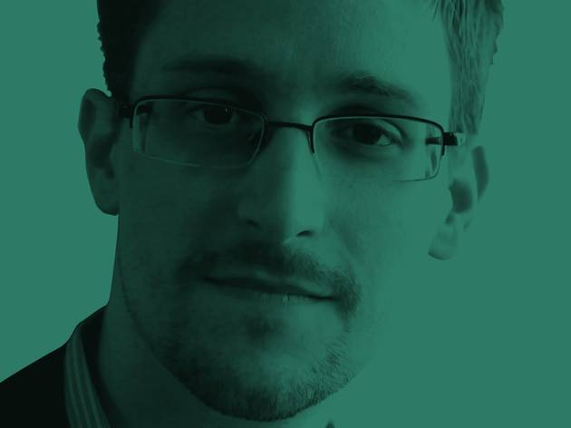 A close-up on Edward Snowden