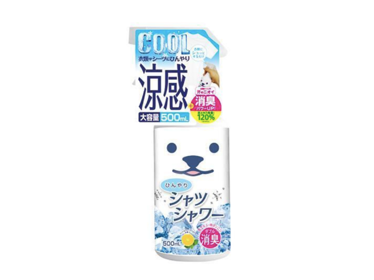 Cooling clothing sprays
