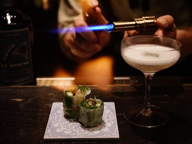 SG Airways cocktail pairing