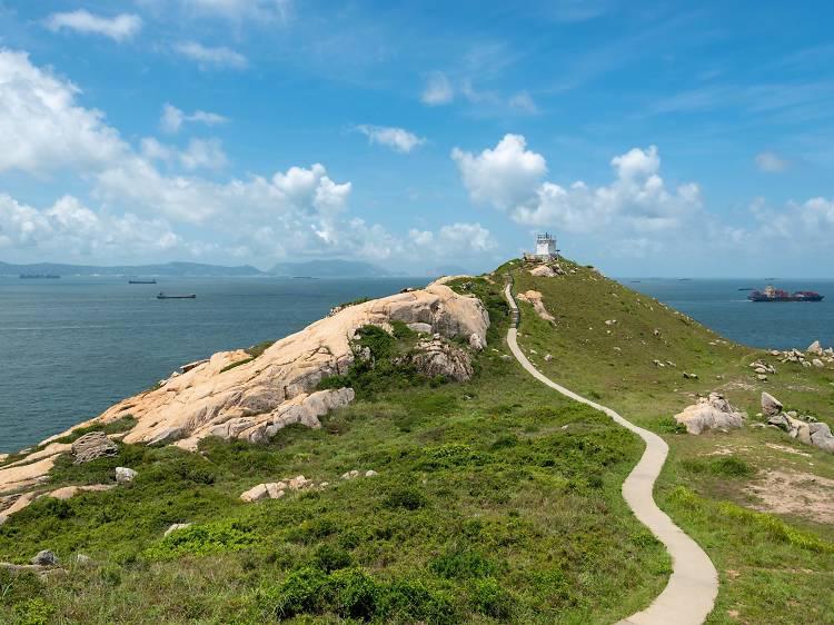 蒲台島126號燈塔:全港最南燈塔