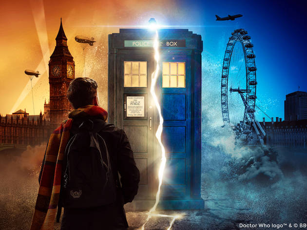 Get yer Doctor Who dungas on, it's time travel… time