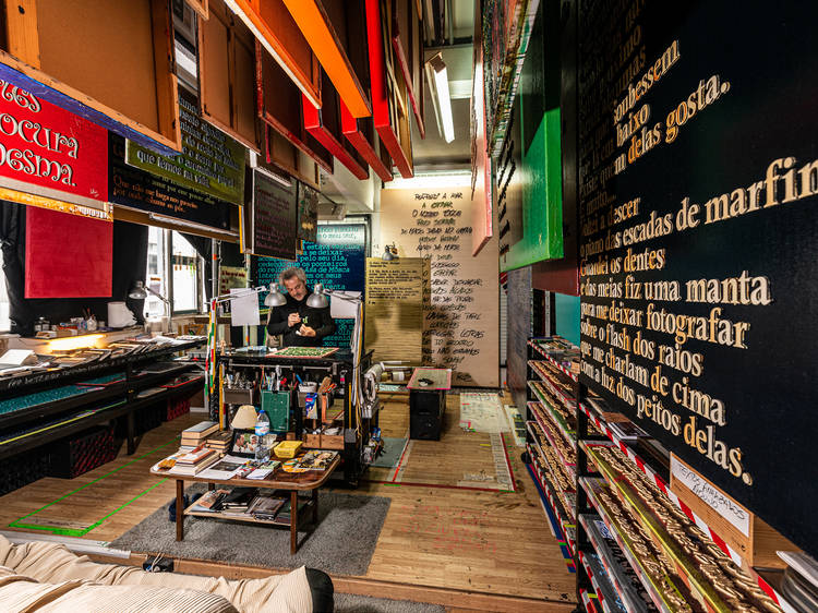 Oficina de Reparação de Letras