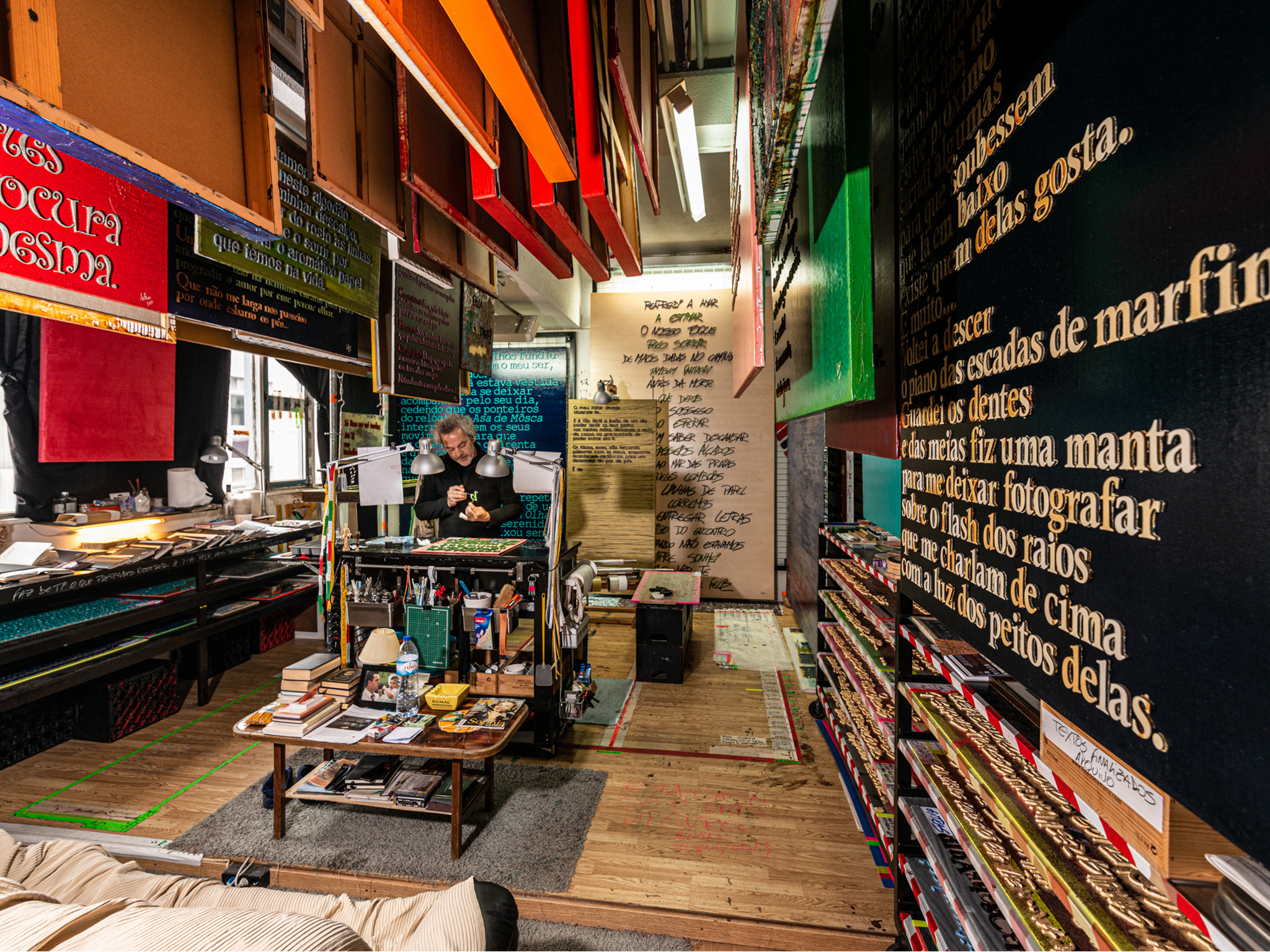 Oficina, Letras, Oficina de Reparação de Letras