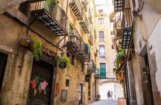 Volta dels Tamborets, Barcelona streets