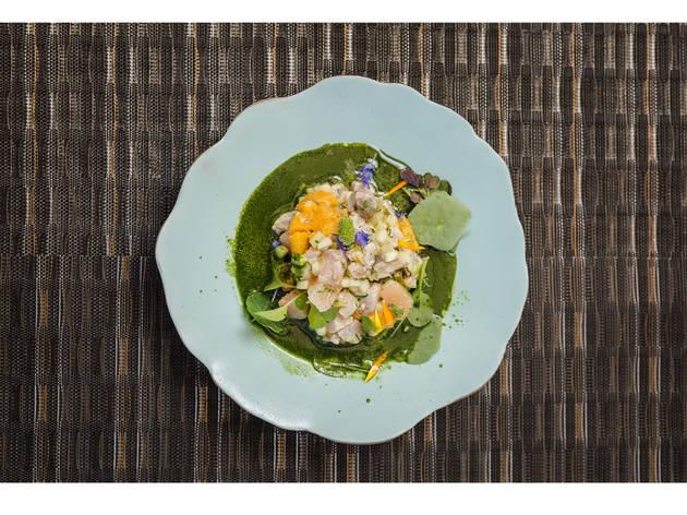 Restaurante, Fortaleza do Guincho Spot, Ceviche com peixe da lota