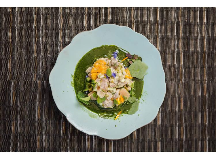 Spot: Ceviche com peixe da lota