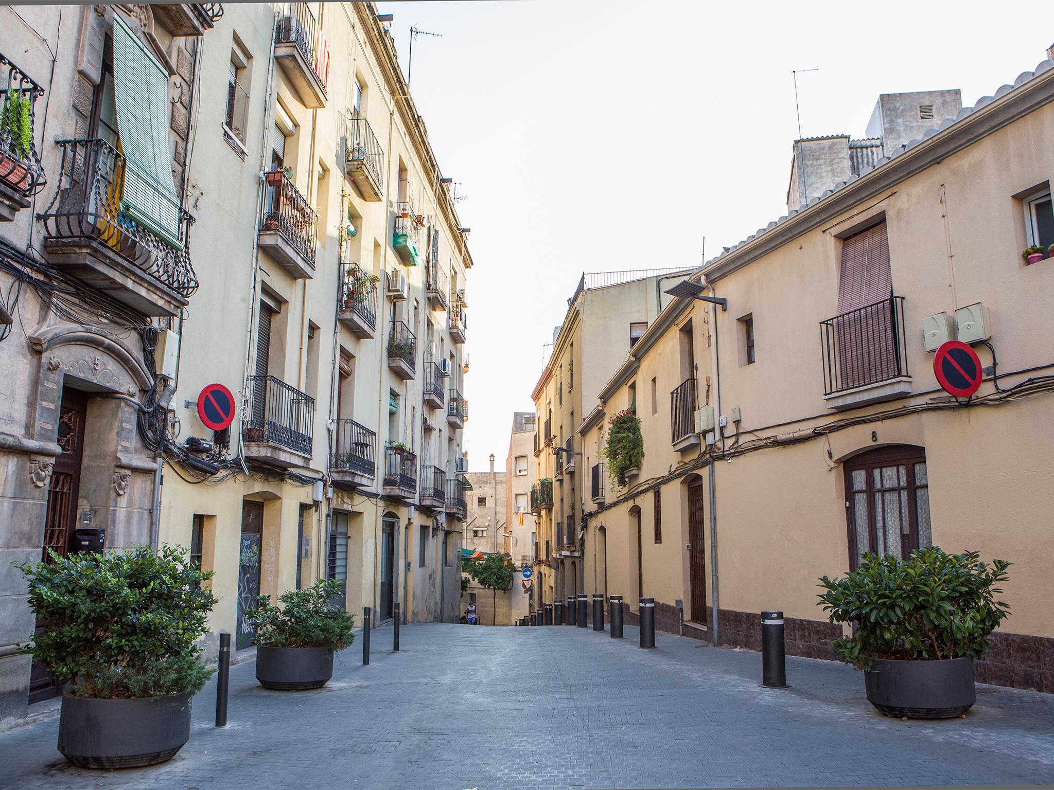 Ibèria, Barcelona streets