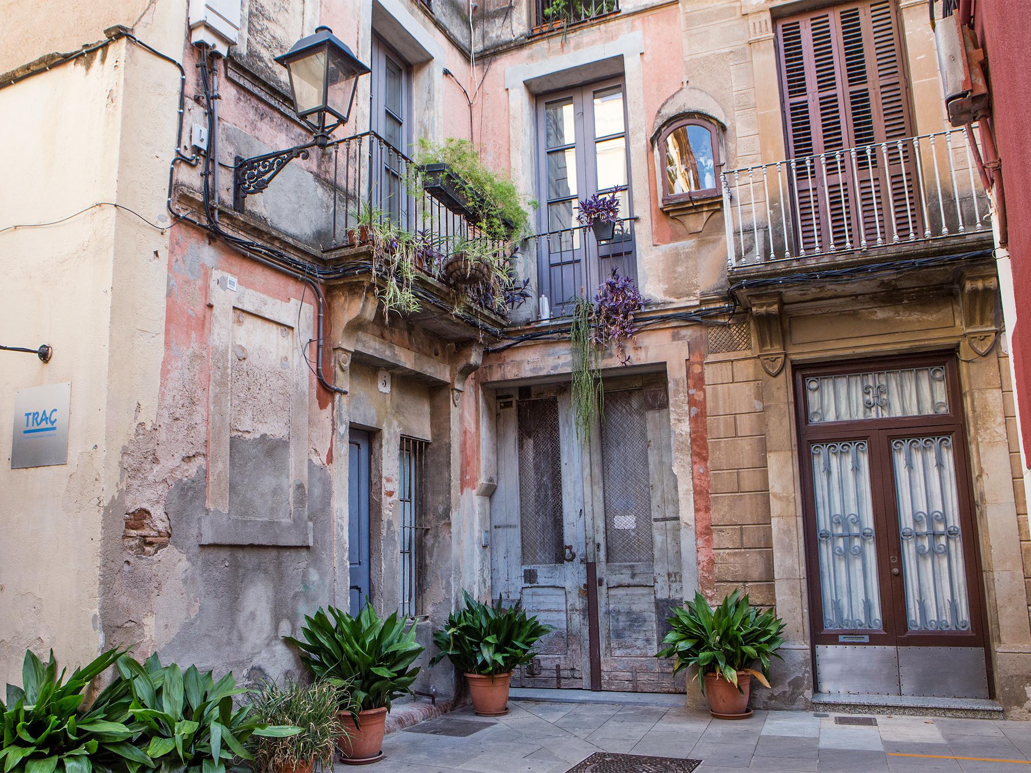 Paletes, Barcelona streets