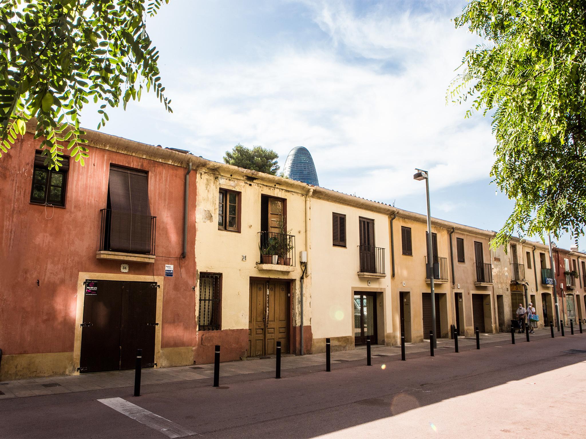 Clot, Barcelona streets