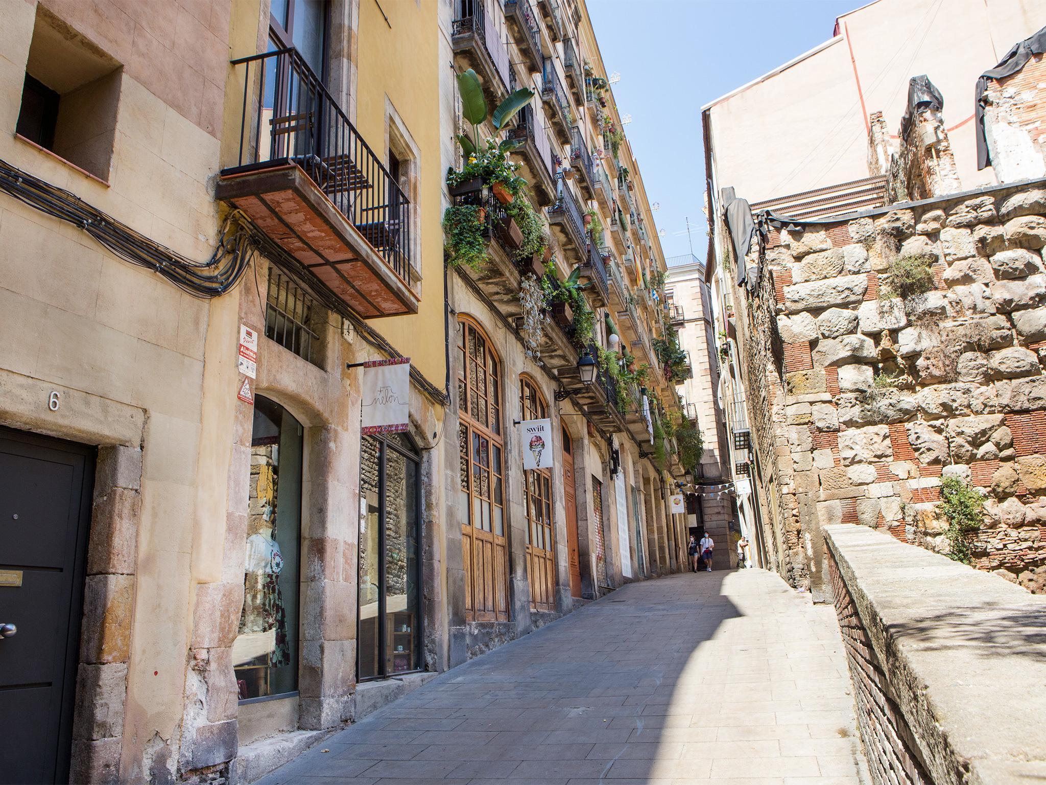 Baixada de Viladecols, Barcelona streets