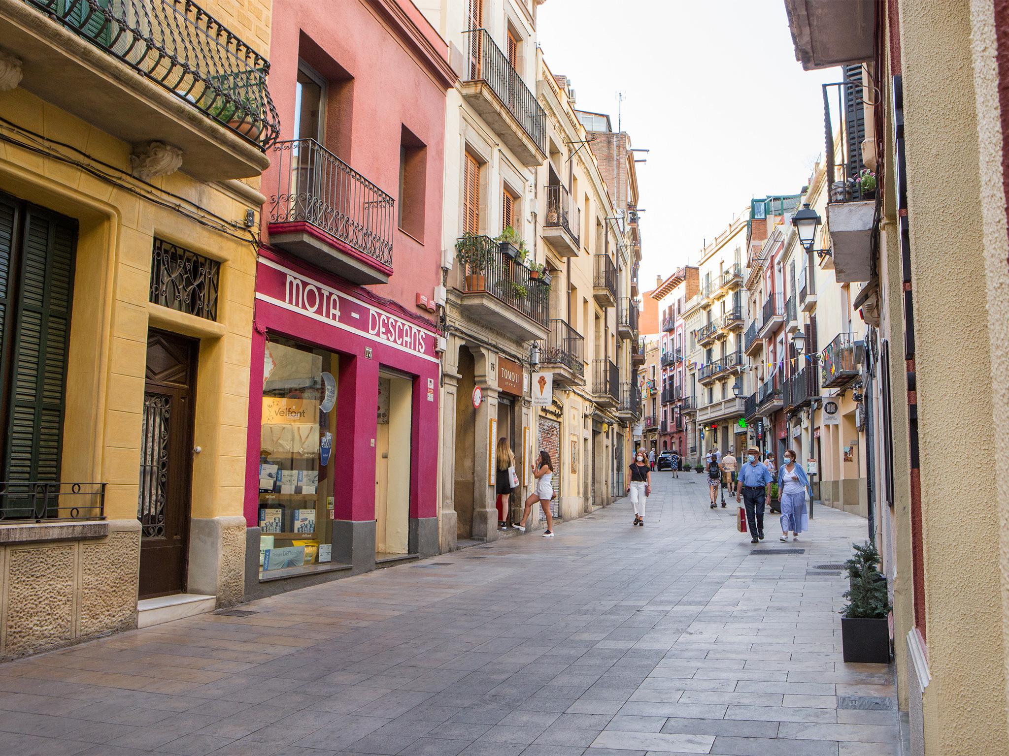 Major de Sarrià, Barcelona streets
