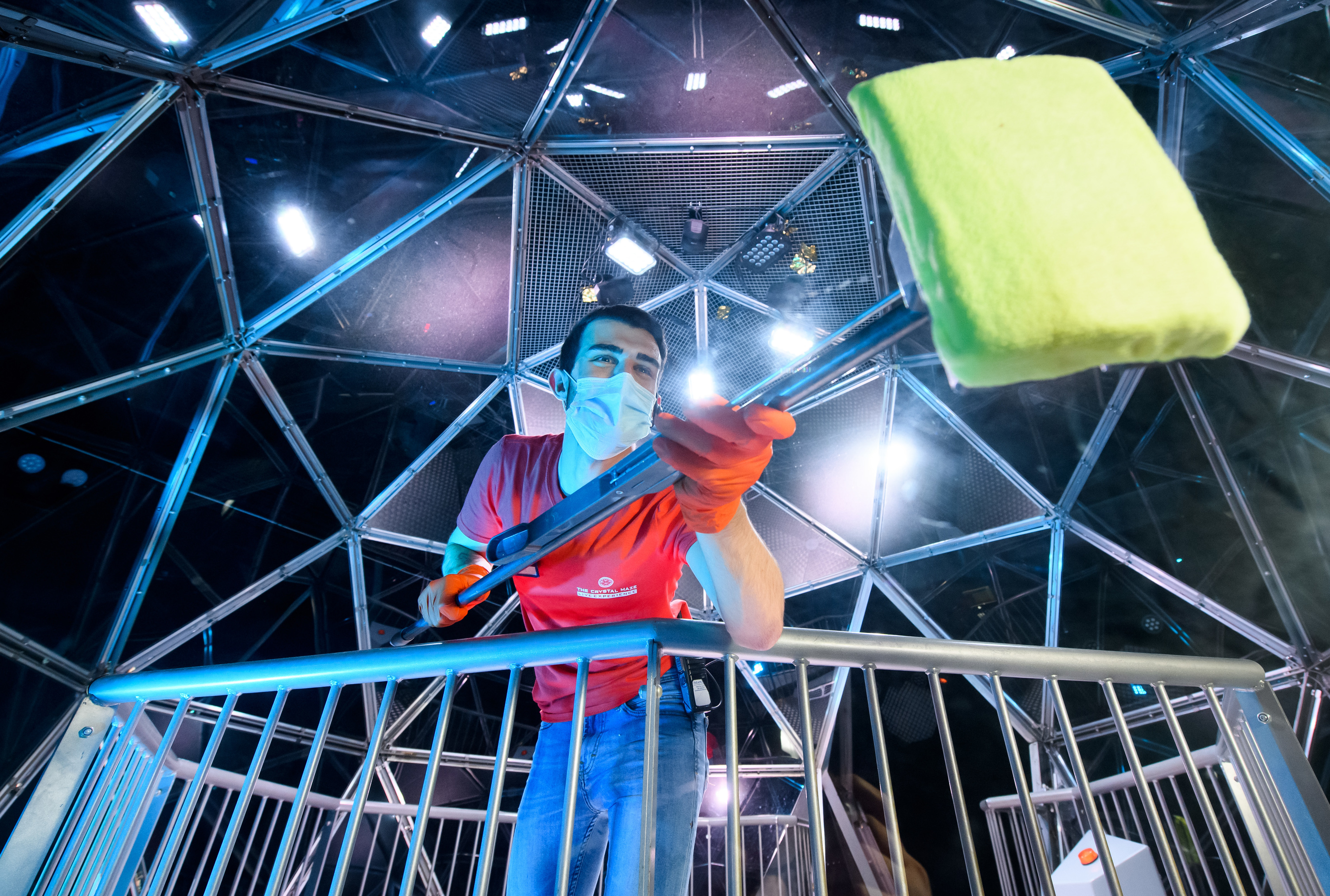 Photograph: Courtesy The Crystal Maze LIVE Experience